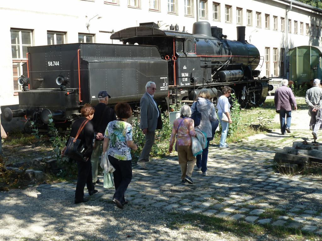 Club 60 plus im Eisenbahnmuseum