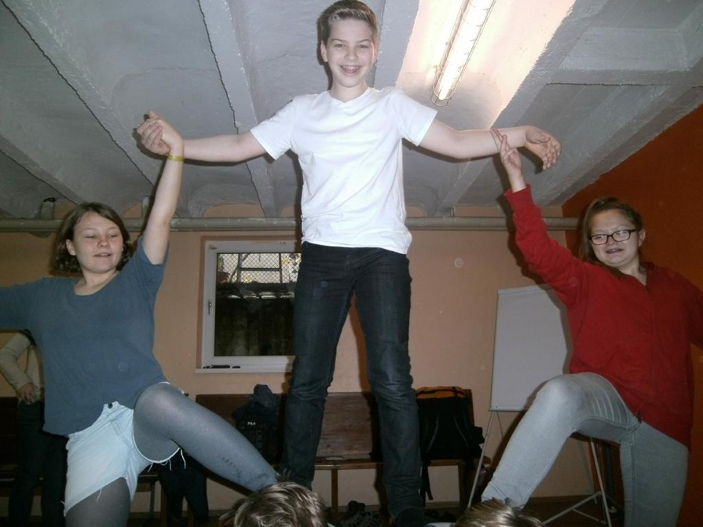 ZIWOLI-Begleiterinnen Weiterbildung – Akrobatik mit Verena Horsky