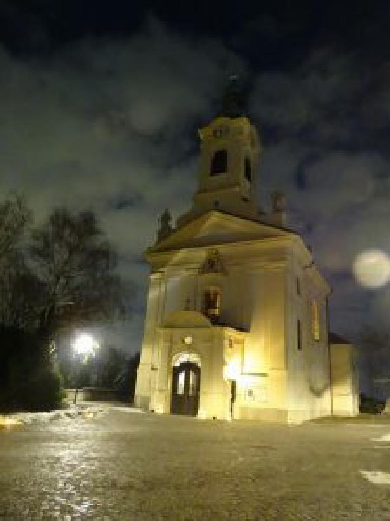 Bergkirche vor der Rorate