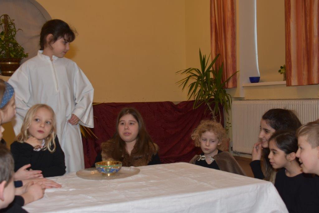 Osterspiel – Das letzte Abendmahl (Gründonnerstag 1. Teil)