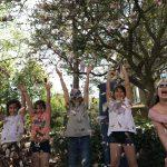 Kinderchor - Singen im Magnolienblütenregen und Eis essen