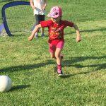 Fußballnachwuchs beim Donnerstagsfußball in Rodaun!