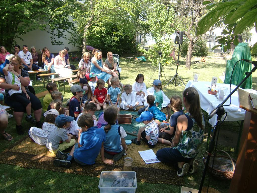 Kindermesse im Freien 2018