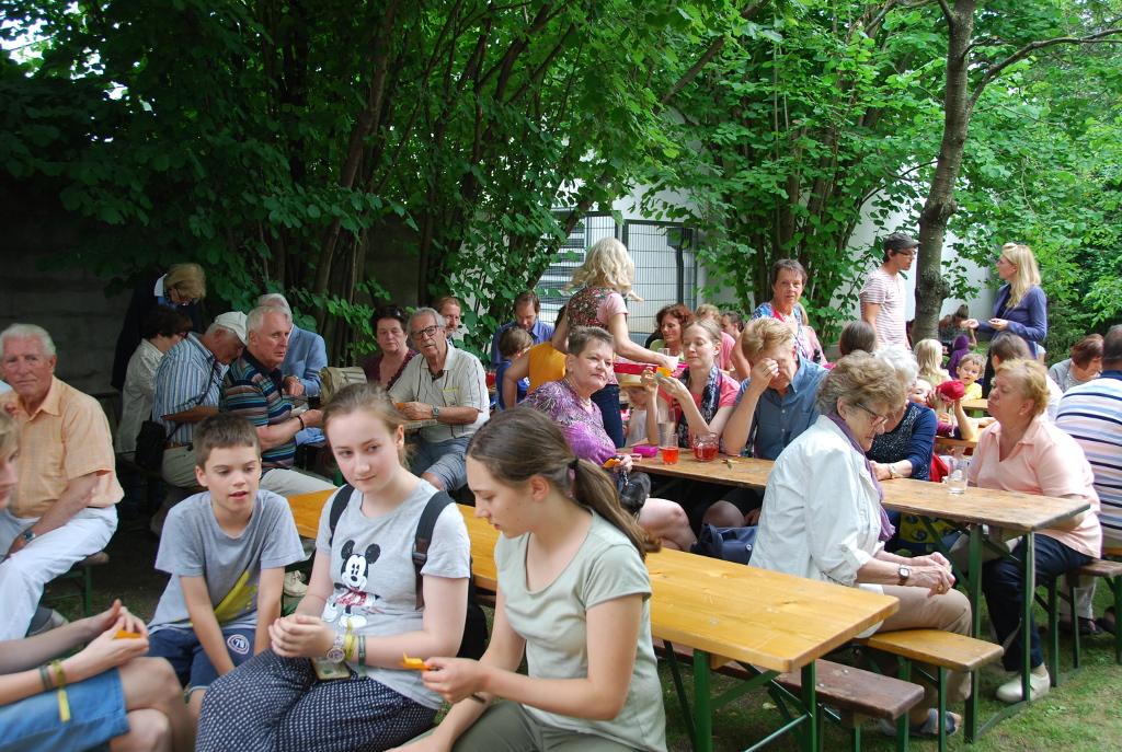 Pfarrwiesen-Kindergartenfest am 15. Juni um 15.00 Uhr