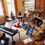 Eindrücke vom ELKI-(ElternKind) Chor