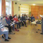 Singvormittag in Liesing am 23. Februar - Einladung
