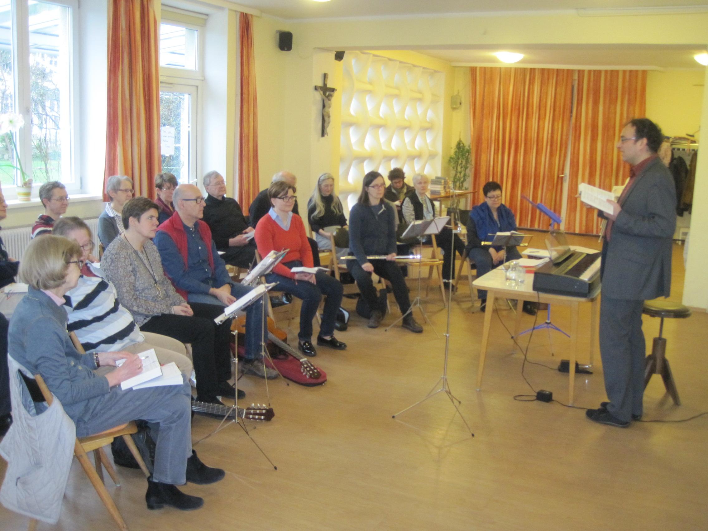 Singvormittag in Liesing am 23. Februar – Einladung