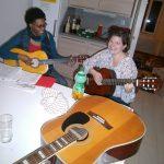 Musikalisch in das neue Gitarrencaféjahr
