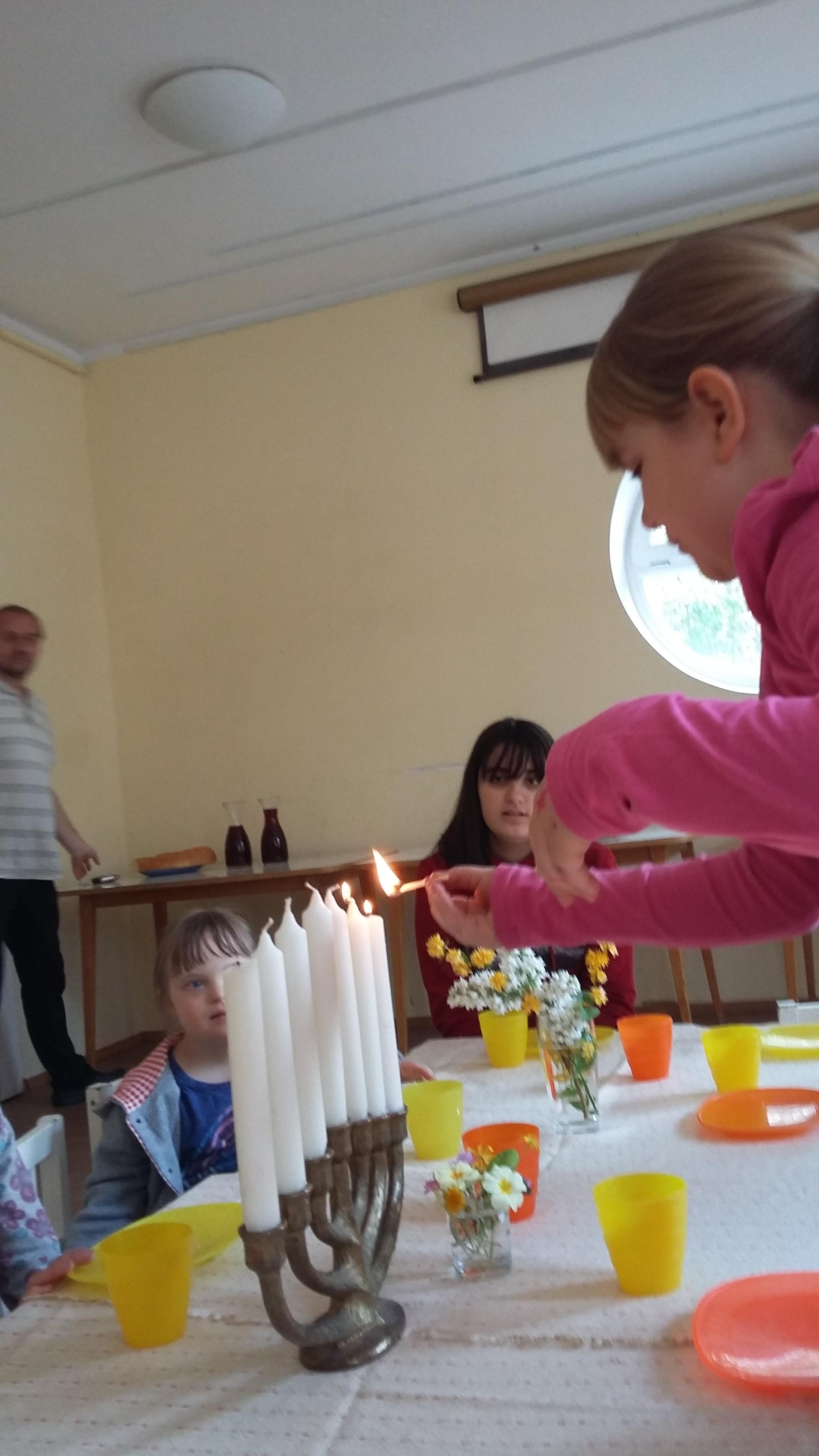 Die Abendmahlfeier für Kinder am Gründonnerstag
