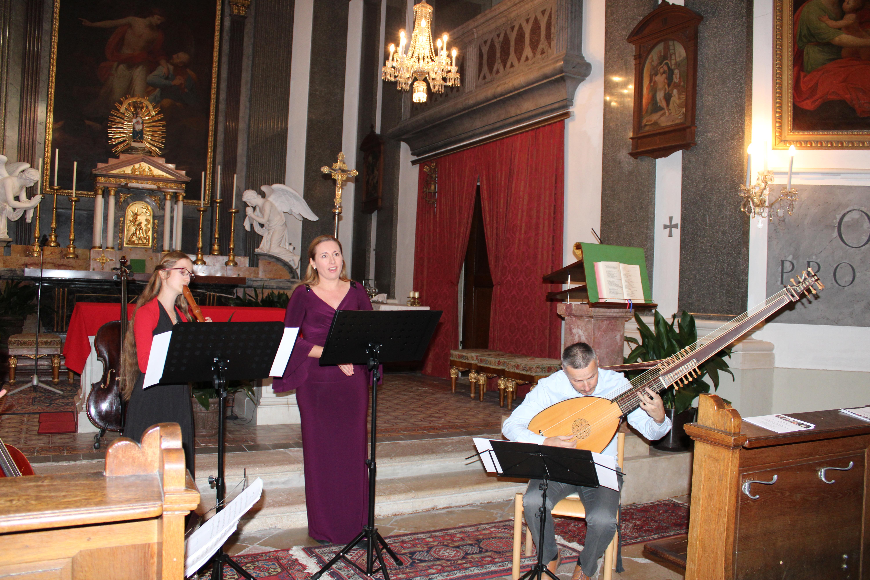 """Konzert vom """"Ensemble Thesaurus Musicum"""" am 21. September in der Pfarrkirche Kalksburg"""