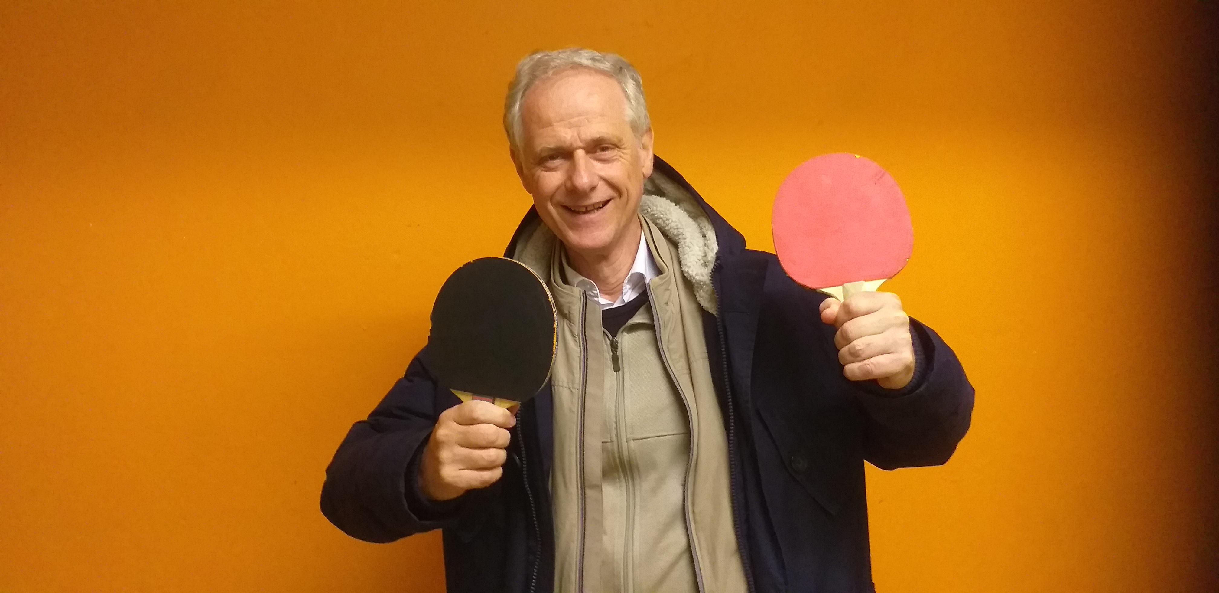 Tischtennis mit Heinrich