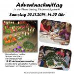 Kinderadventnachmittag mit Adventkranzsegnung am 30. November 14.30 Uhr