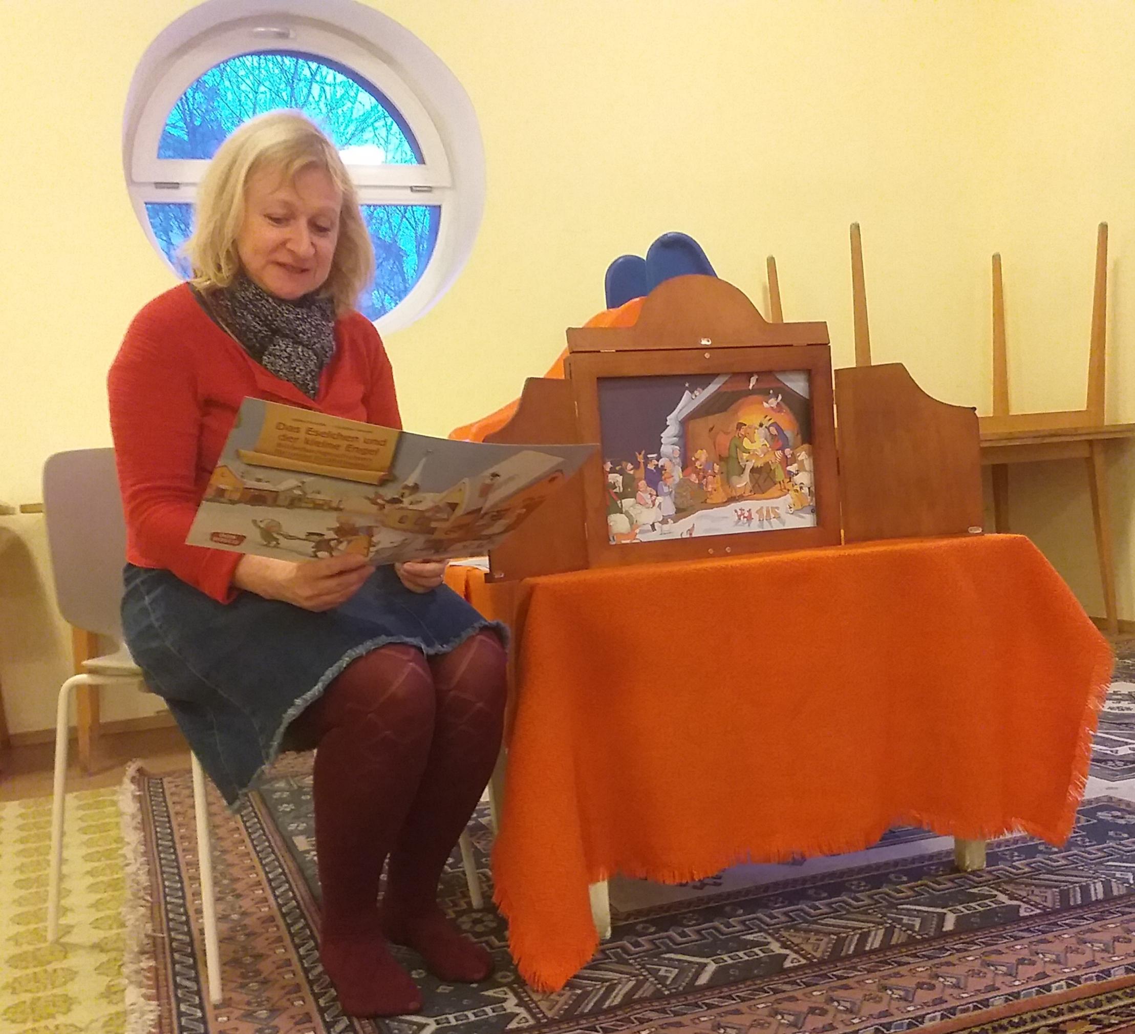 Bilderbuchlesung in der NachmittagsELKI-Runde mit Barbara Nasel