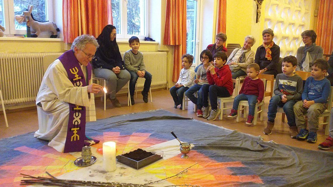 Aschenkreuzfeier für Kinder