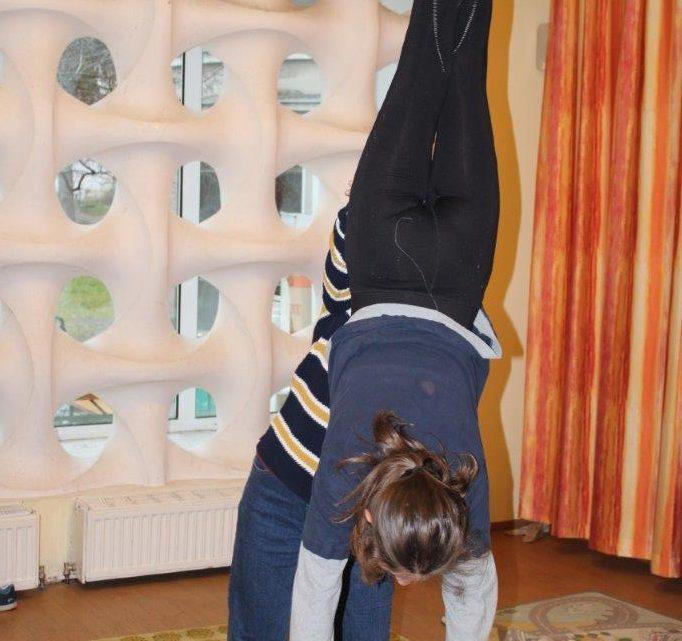 Das ZIWOLI-Team machte eine Weiterbildung mit Zirkuspädagogin Verena Horsky