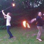 Beim letzten Jonglier- und Tischtennistreff gings nochmal heiß her:-)