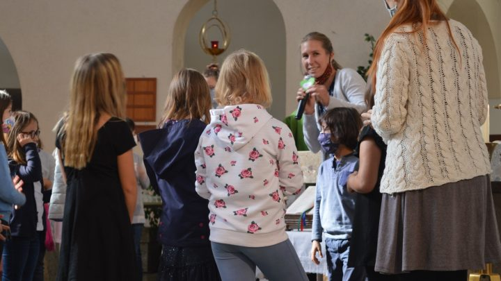 Tauferneuerung unserer Erstkommunionkinder:-)
