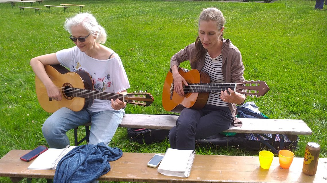 ELKI (ElternKind) und Gitarren  Zoomtreffen plus Trommelimpuls während der Corona -Ausnahmesituation!