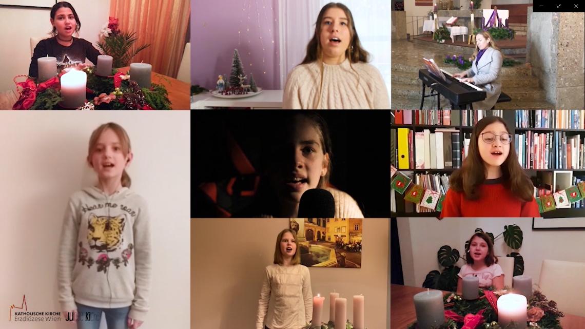 Im Schein der Kerze – ein Adventvideo vom Kinderchor der Pfarre Liesing