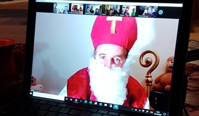 Der Hl. Nikolaus war da:-)