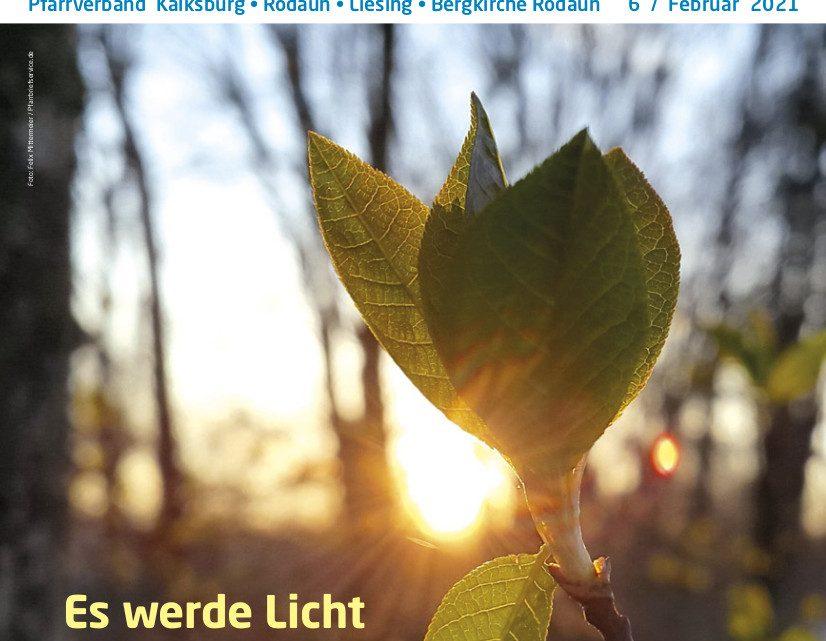 """Aufgeblättert – neue Ausgabe mit dem Themenschwerpunkt """"Es werde Licht"""""""